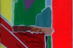 Tümpel18.10.200740 x 20 cmAcryl + Gouache auf Leinwand