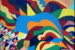 Tears00.00.200770 x 50 cmAcryl auf Leinwand