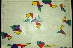 Trias70 x 50 cmAcryl + Autolack auf Leinwand