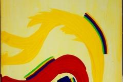 Under01.04.200750 x 40 cmAcryl + Gouache + Pastellkreide auf Leinwand