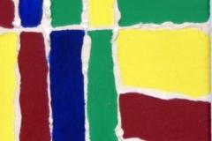 Verfliest00.00.200840 x 20 cmAcryl + Spachtelmasse auf Leinwand