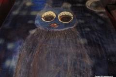 Vogel der Nacht28.10. - 06.11.201446 x 38 cmEitempera + Acryl + Marker auf Leinwand