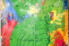 Welcome04.02.2013150 x 100 cmAcryl + Gouache auf Leinwand