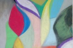 Lily14.02.200442 x 29,5 cmPastellkreide auf Kartonpapier