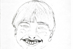 LittleSteven16.06.199729,4 x 21 cm Bleistift auf Papier