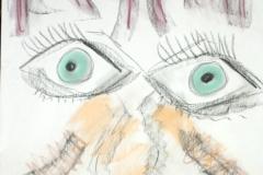 Lookie00.00.201342 x 29,5 cmPastellkreide auf Papier