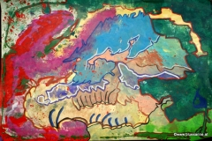 LuckySky00.05.201263 x 44 cmAcryl auf Papier