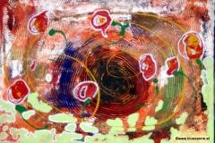 Meadow00.08.201260 x 42 cm Acryl + Gouache auf Karton