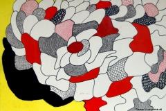 Moovy03.09.200344 x 31 cmAcryl + Tinte + Tusche auf Karton
