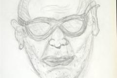 Mr.KO10.01.200242 x 29.5 cm Bleistift auf Papier