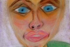 Mr.P.15.02.200442 x 29,5 cmPastellkreide auf Kartonpapier