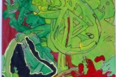 MultipleHead29.10.201342 x 29,5 cmAcryl + Marker auf Papier