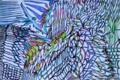 Naturebird23.05. - 19.06.201642 x 29,5 cmBuntstift + Tusche auf Papier