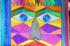 Ooh!15.12. - 16.12.200156 x 42 cmBuntstift + Marker auf Papier