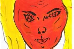 OrangeLady226.11.200129,4 x 21 cm Wasserfarbe auf Papier