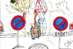 Parken Verboten (BTTB 12)29.05.201529,7 x 21 cmAcryl + Marker auf Papier
