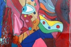 PointedLady15.11.201259 x 37 cmAcryl auf Wellpappe