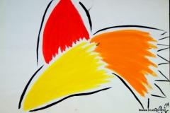 Propeller22.11.200142 x 29.5 cm Wasserfarbe auf Papier