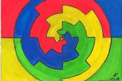 Rad21.03.199929,4 x 21 cm Wasserfarbe auf Papier