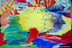 Rest00.00.200463 x 44 cmGouache auf Papier
