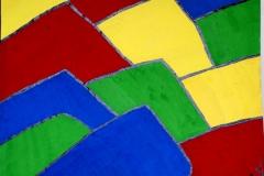 Roofy01.05.200156 x 42 cmGouache + Plaka auf Papier
