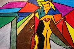 Schweigen23.01.201542 x 29,5 cmÖl-Pastellkreide + Acryl auf Papier