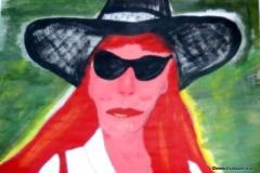 Selbstportrait13.12.201242 x 29,5 cmAcryl auf Papier