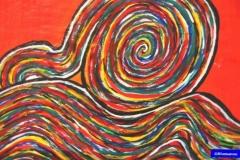 SnakeInProgress11.03.200242 x 29,5 cmAcryl auf Papier