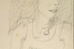 Soraya16.02.199942 x 29,5 cmBleistift auf Papier