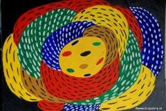 Spoon00.00.200255 x 50 cmAcryl + Gouache auf Karton