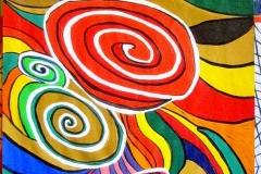 Squirly00.02.200344 x 30 cmAcryl + Plaka auf Papier