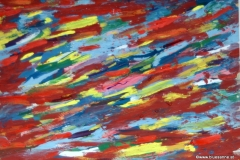 Strandy12.08.200342 x 29,5 cmAcryl + Gouache auf Kartonpapier