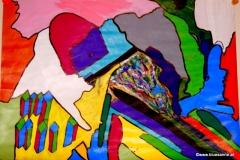 Türmchen00.00.201142 x 29,5 cmAcryl auf Papier