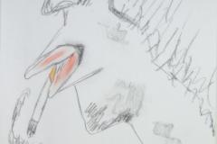 The Smoker20.09.201342 x 29,5 cmPastellkreide auf Papier