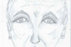 ThinFace27.02.199929,7 x 21 cmBleistift auf Papier