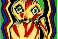 Tigerlilie13.02. - 15.02.200042 x 29,5 cmGouache auf Papier