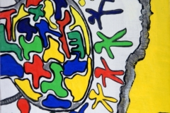 Tummy07.02.  - 08.02.200342 x 29,5 cmAcryl auf Kartonpapier