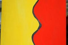 TwoColors27.10.200063 x 44 cmAcryl auf Papier
