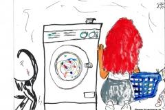Wäsche-Hygiene (BTTB 14)31.05.201529,7 x 21 cmAcryl + Marker auf Papier