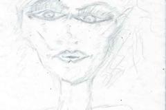 WaveLady23.06.199929,7 x 21 cmBleistift auf Papier