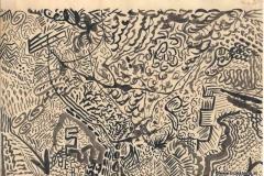 WayOut16.06.199729,7 x 21 cmTusche auf Papier
