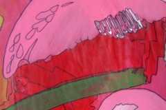 WhereIam21.1. - 20.11.201342 x 29,5 cmAcryl + Marker auf Papier