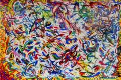 Wind11.01.200244 x 30 cmAcryl + Lack auf Papier