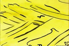YellowWay26.11.200129,4 x 21 cm Wasserfarbe auf Papier