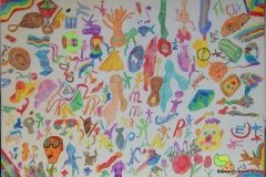 Yes20.01.200244 x 30 cmBuntstift + Tusche auf Papier