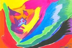 UnderCover26.11.200129,7 x 21 cmWasserfarbe auf Papier