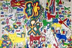 4 Colors07.06. - 07.07.200056 x 42 cmAcryl + Gouache + Plaka auf Papier