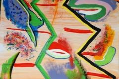 Africa02.01.200763 x 44 cmAcryl + Gouache auf Papier