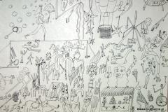 Akrobat - schööön!21.08.201344 x 31 cmFüllfeder auf Papier