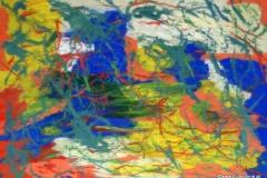 Algus09.08.200342 x 29,5 cmAcryl + Gouache auf Kartonpapier